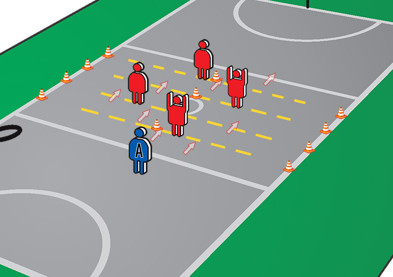 Drills For Netball: Table Soccer