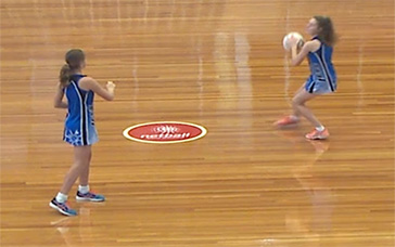 Training For Netball: 3-way Straight Leads