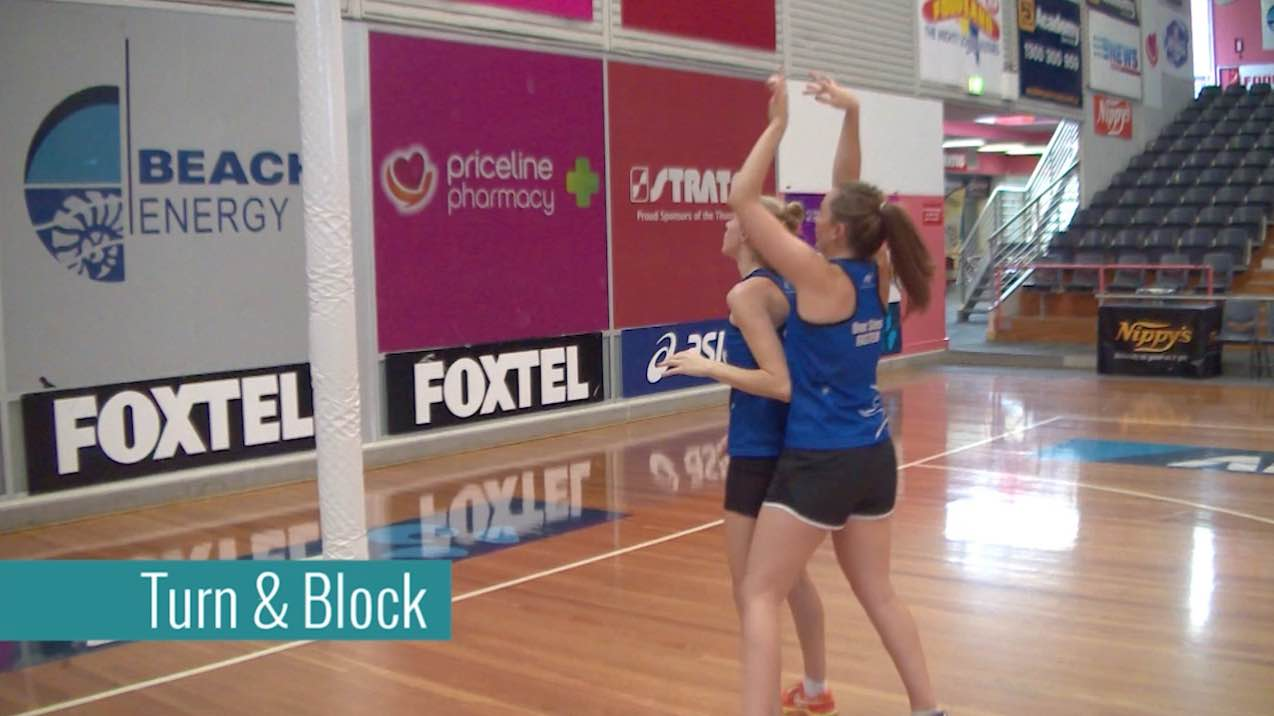 Netball Skills: Turn and Block