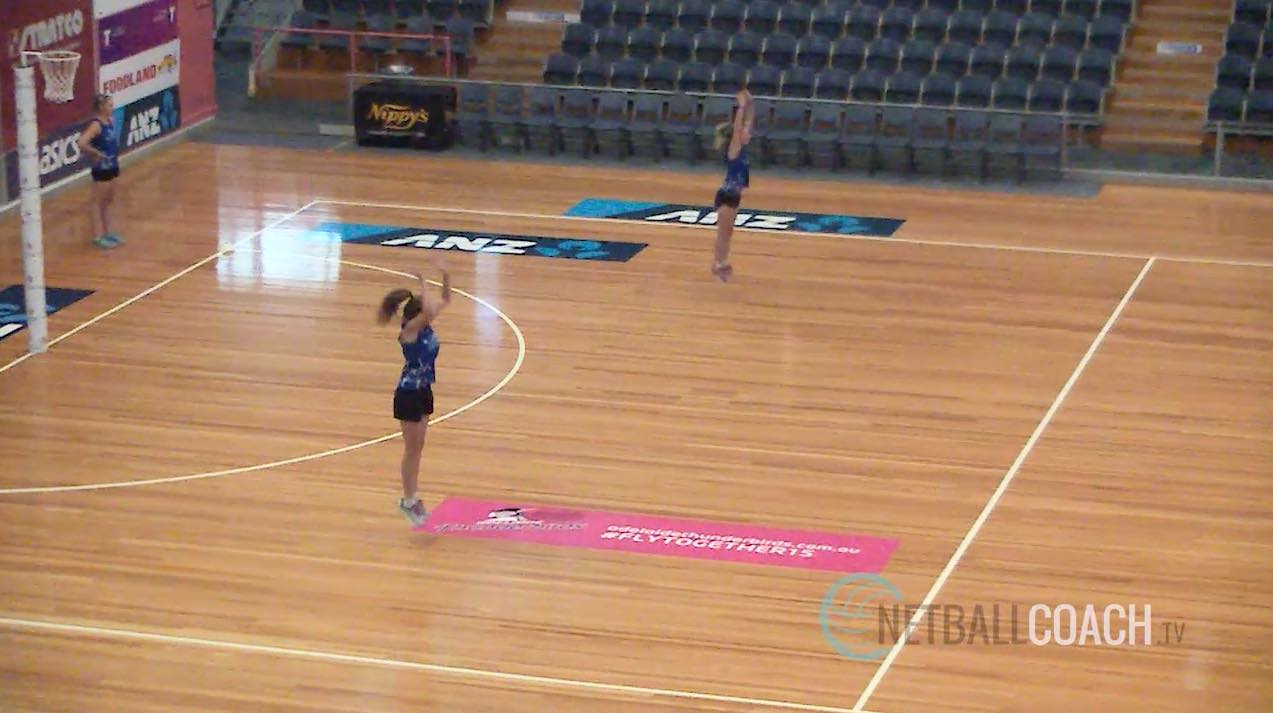 Netball Training Regime: Jumping Diamond then Accelerate