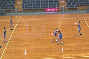 Netball Training Regime: Double Plays Through a Defensive Pair