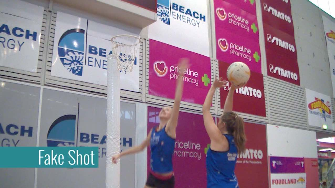 Drills For Netball: Fake Shot