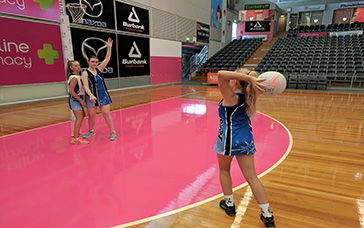 Netball Training Schedules: Fake the Lob