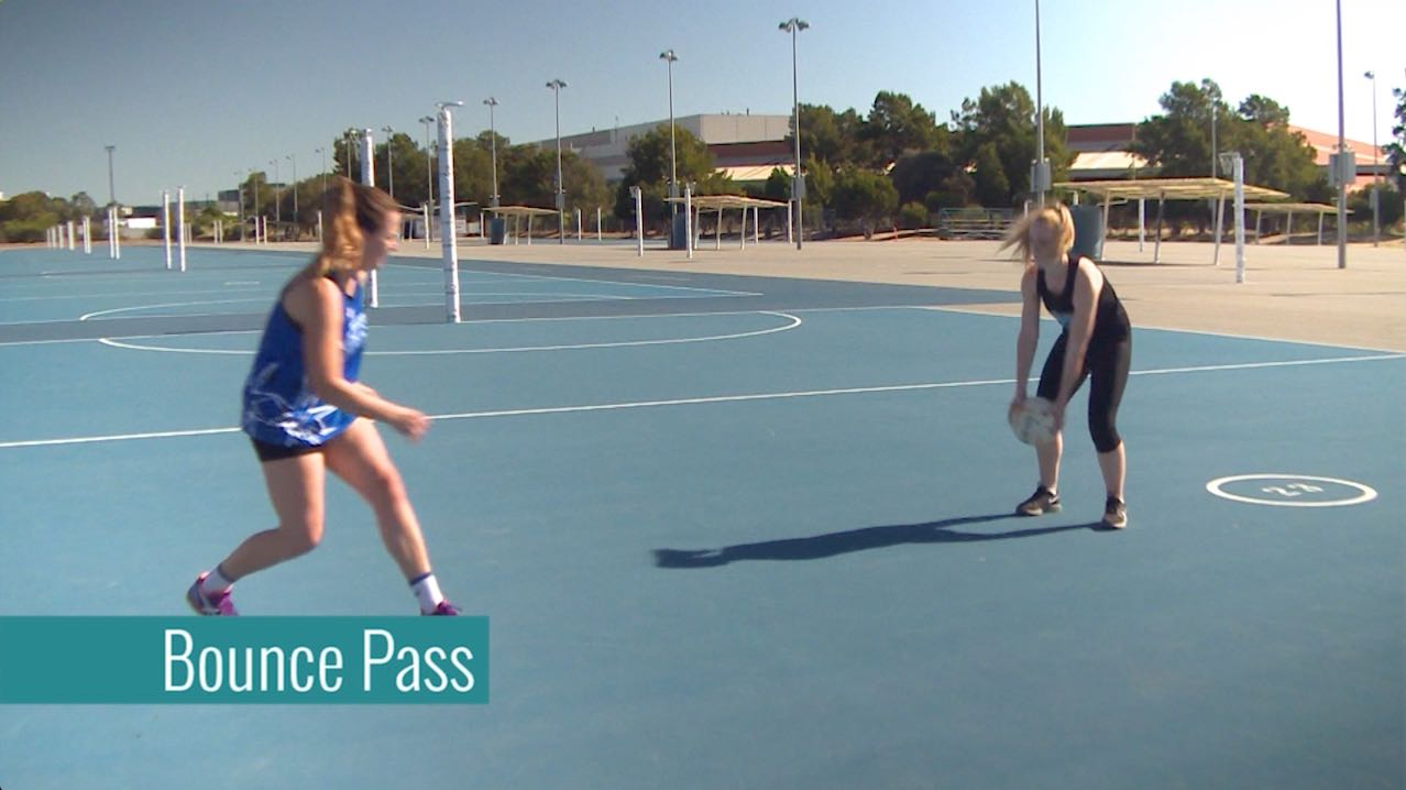 Netball Training Schedules: Bounce Pass
