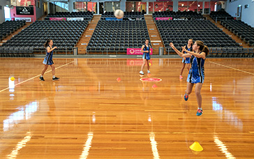 Netball Coaching Drills: One-foot Landing and Pivot