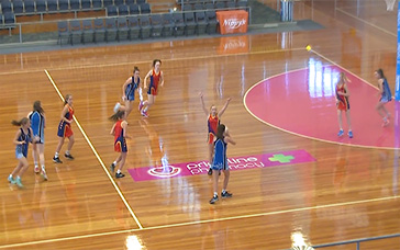 Netball Coaching: Half-court Possession Game