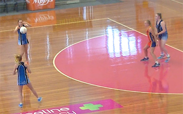Netball Coaching: Fast Feet to Cover Ball-side