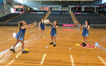 Netball Drills: Intercepting Triangle