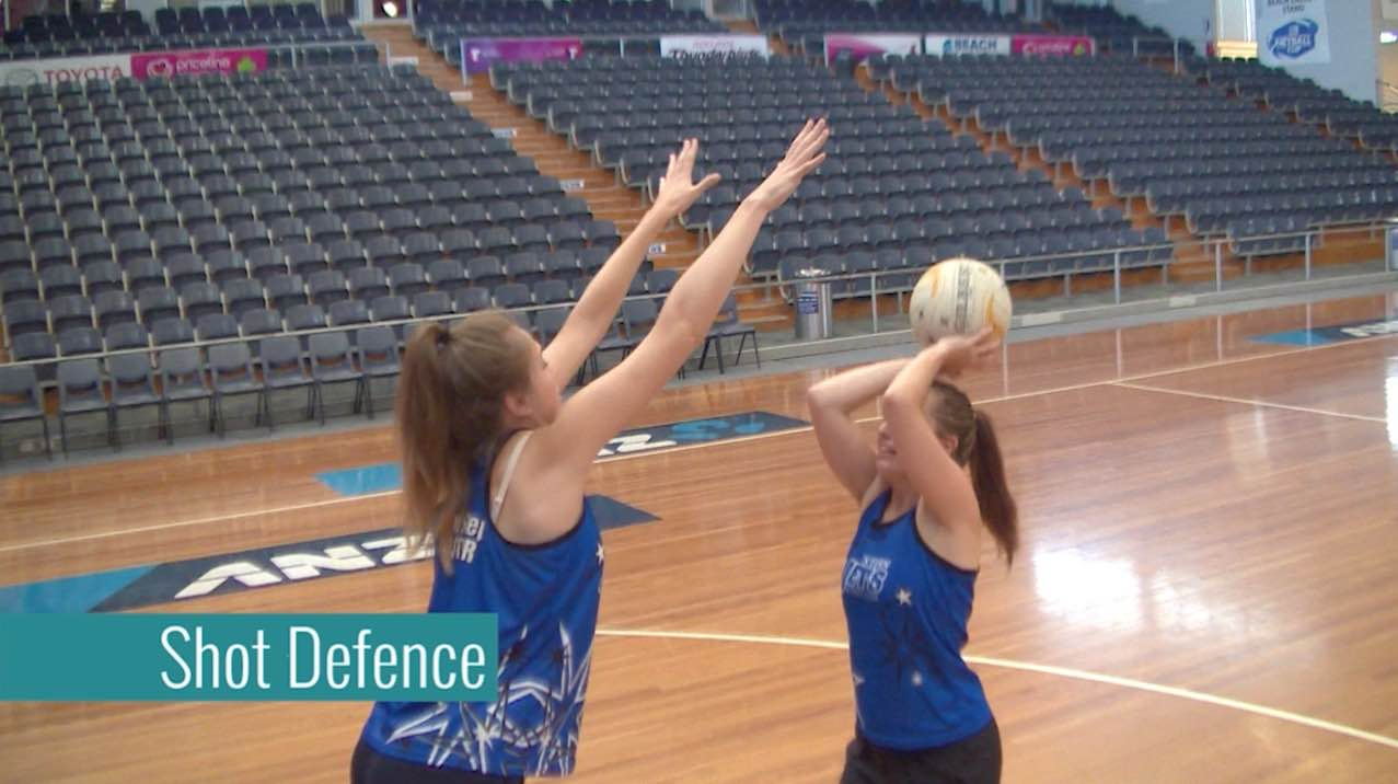 Netball Coaching Drills: Shot Defence