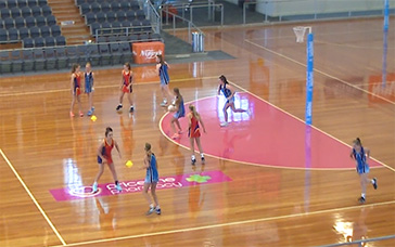 Coaching Netball: Three Lane Highway