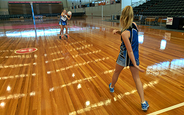 Netball Skills and Drills: Intercept from Behind