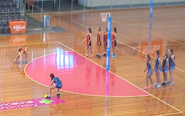 Netball Skills and Drills: Shuttle Run Race