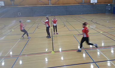 Netball Shooting Technique: Propeller Cut and Lead
