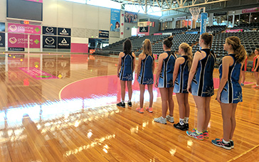 Netball Warm Ups: Pivot and Change Direction After Jump