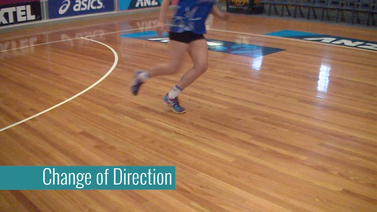 Netball Goalshooting Drill: Change of Direction