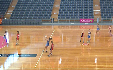 Netball Coaching Drills For Kids: Full-court Read-off