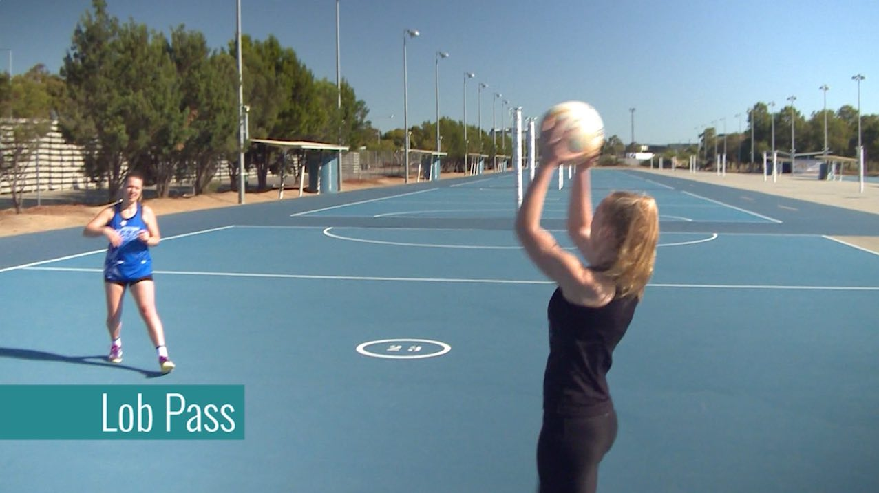 Drills For Netball: Lob Pass