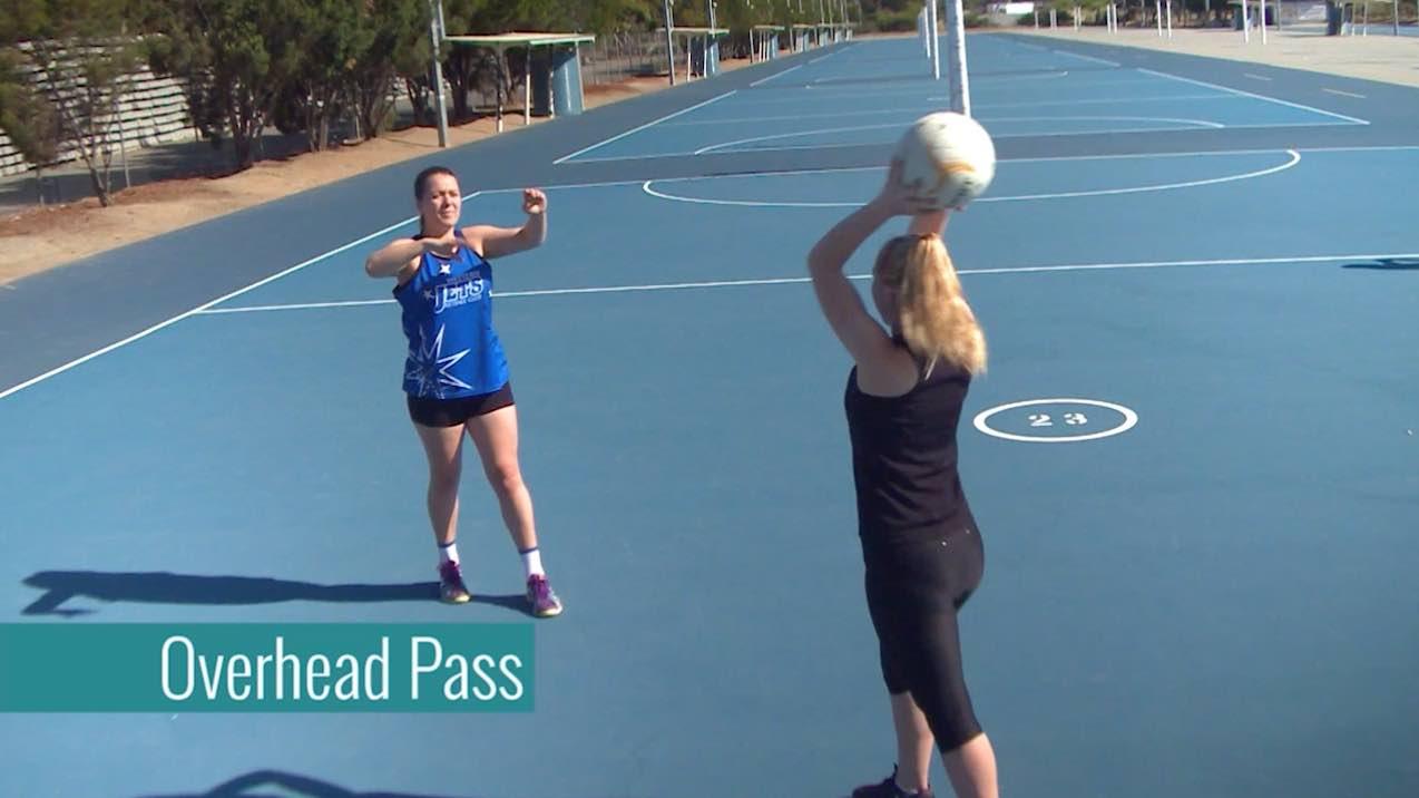 Netball Training: Overhead Pass