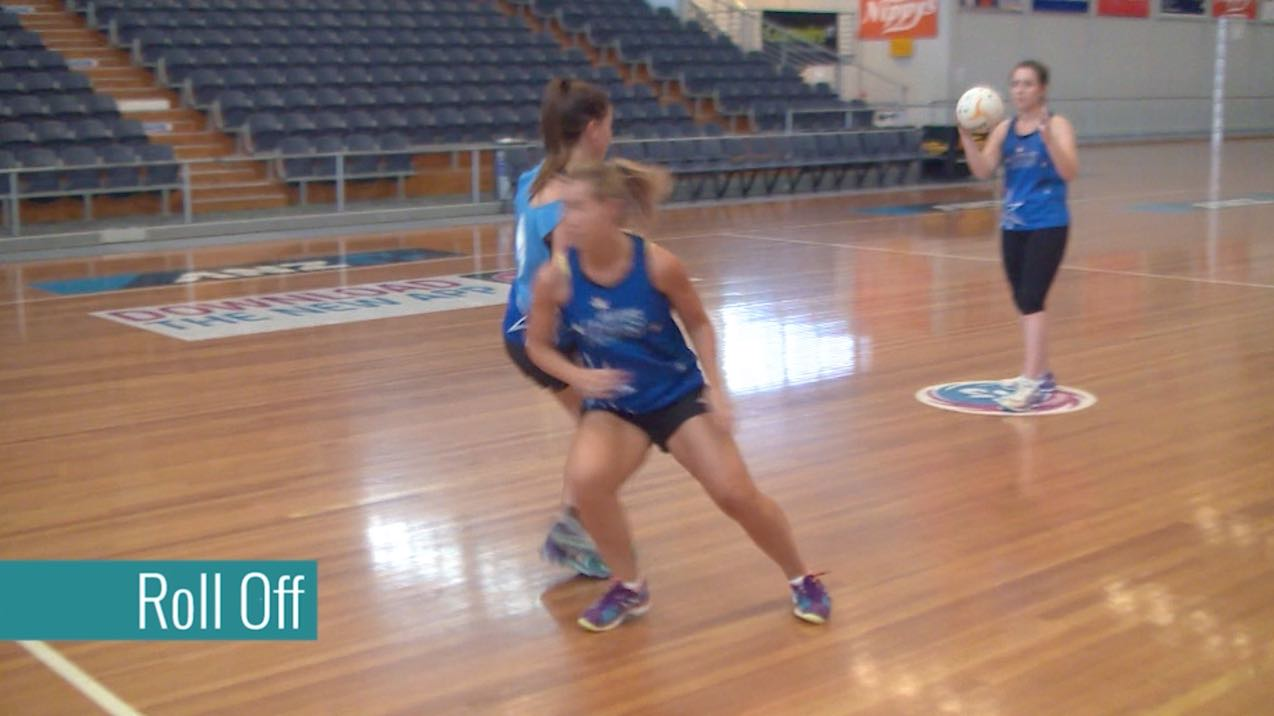 Free Netball Coaching Drills: Roll-off