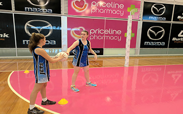 Netball Training Tips: Circle Cross & Shoot