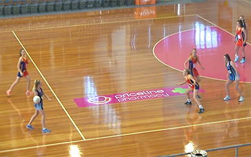 Netball Plays: Sagging Defence