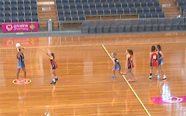 Netball Training Drills For Juniors: Centre Pass: [WA] Primary