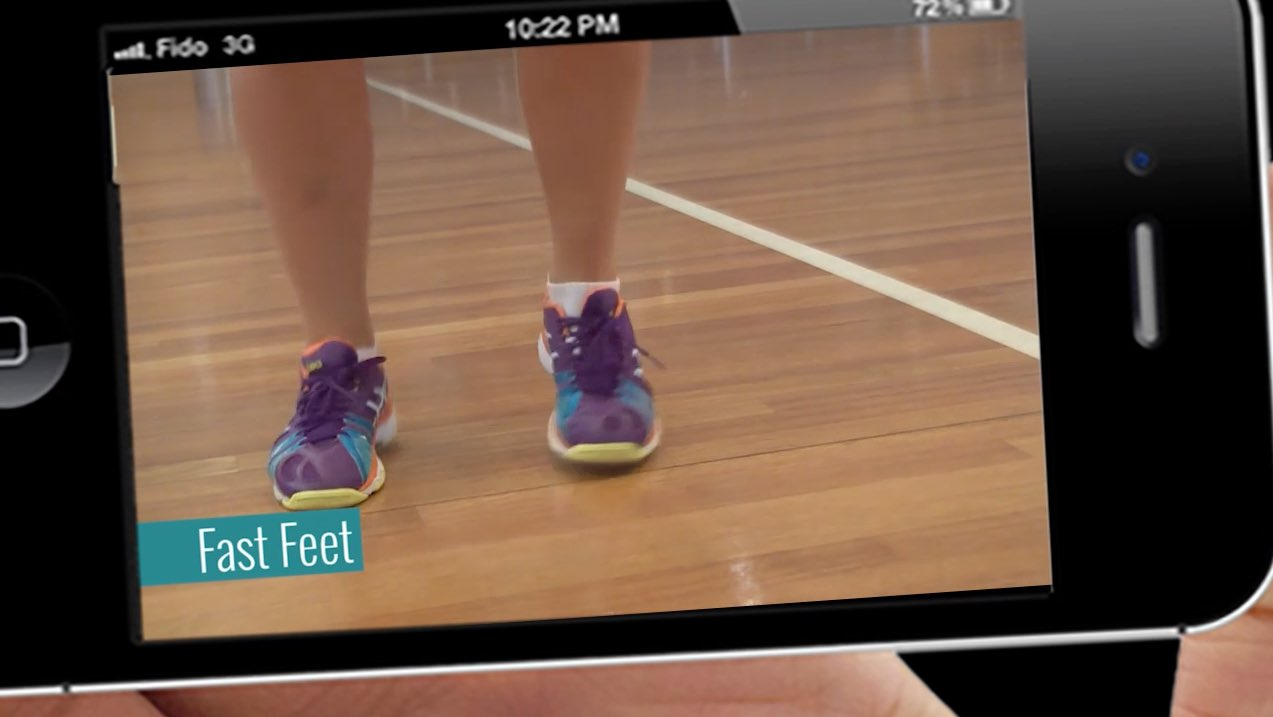Netball Workouts: Fast Feet