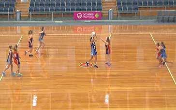 Netball Workouts: Centre Pass: Deep [GA]